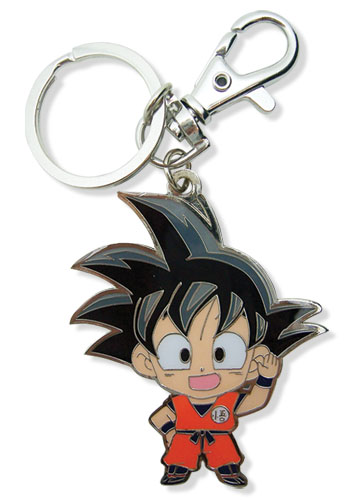 Dragon Ball Z Sd Goku Metal Keychain, an officially licensed product in our Dragon Ball Z Key Chains department.