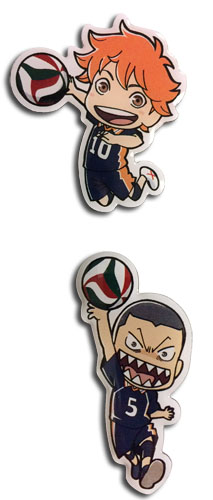 Haikyu!! - Shoyo & Ryunosuke Pins officially licensed Haikyu!! Pins & Badges product at B.A. Toys.