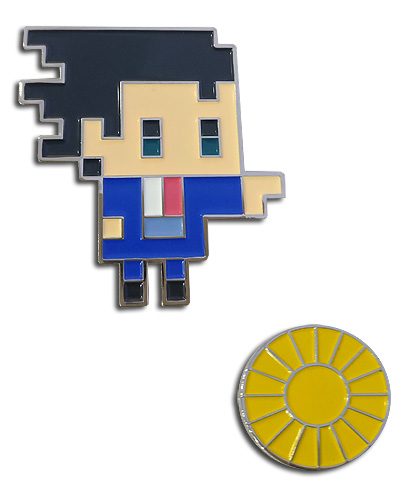 Ace Attorney - Phoenix & Attorney Badge Pins, an officially licensed Ace Attorney product at B.A. Toys.