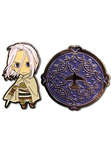 Heroic Legend Of Arslan - Arslan & Arslan Emblem Pins officially licensed Heroic Legend Of Arslan Pins & Badges product at B.A. Toys.