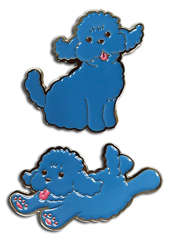 Yuri On Ice!!! - Makkachin Pins officially licensed Yuri!!! On Ice Pins & Badges product at B.A. Toys.