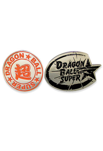 Dragon Ball Super - Dbs Icon 01 & 02 Pins officially licensed Dragon Ball Super Pins & Badges product at B.A. Toys.