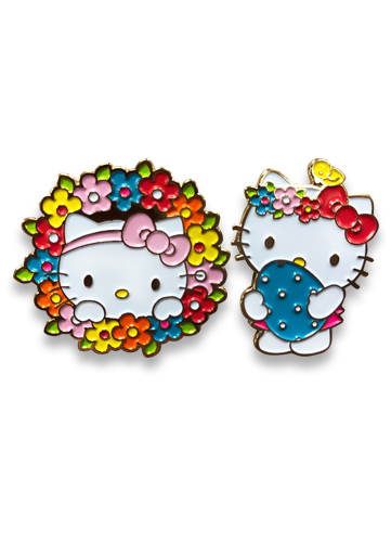 Hello Kitty - Easter 2017 Enamel Pins officially licensed Hello Kitty Pins & Badges product at B.A. Toys.