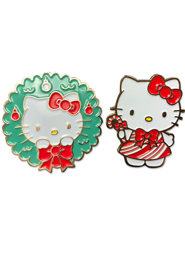 Hello Kitty - Holiday 2017 Enamel Pins, an officially licensed product in our Hello Kitty Pins & Badges department.