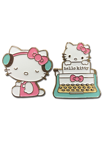 Hello Kitty - Class 2017 Enamel Pins officially licensed Hello Kitty Pins & Badges product at B.A. Toys.