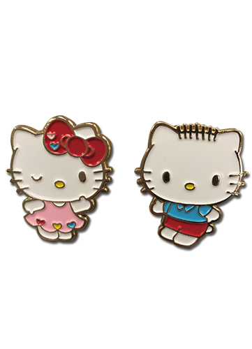 Hello Kitty - Valentine's 2018 Enamel Pins officially licensed Hello Kitty Pins & Badges product at B.A. Toys.