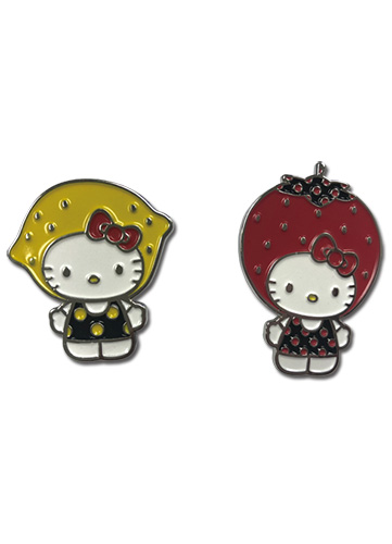 Hello Kitty - 2019 Core A Set Enamel Pin officially licensed Hello Kitty Pins & Badges product at B.A. Toys.