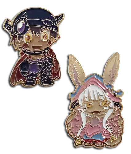 Made In Abyss - Leg & Nanati Pins, an officially licensed product in our Made In Abyss Pins & Badges department.