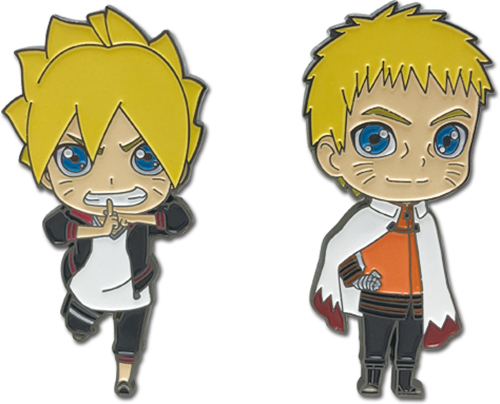 Boruto - Boruto & Naruto Pins, an officially licensed Boruto product at B.A. Toys.