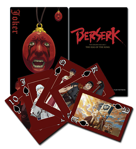 Berserk Playing Cards officially licensed Berserk Playing Cards product at B.A. Toys.