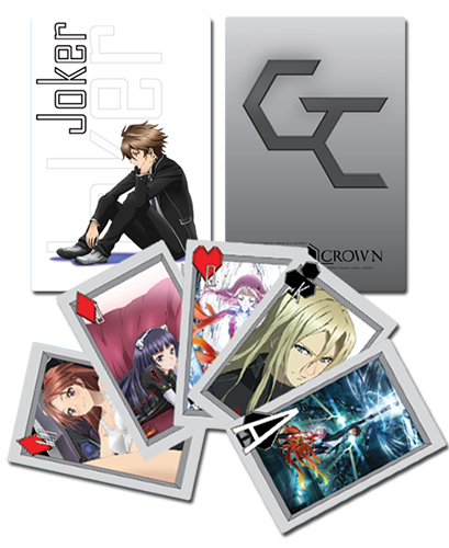 Guilty Crown Guilty Crown Playing Cards, an officially licensed product in our Guilty Crown Playing Cards department.
