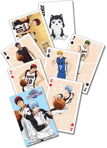 Kuroko's Basketball - Playing Cards, an officially licensed product in our Kuroko'S Basketball Playing Cards department.