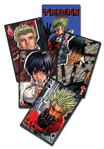 Trigun - Playing Cards officially licensed Trigun Playing Cards product at B.A. Toys.