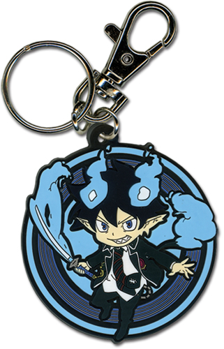 Blue Exorcist Rin Kakusei Pvc Keychain, an officially licensed Blue Exorcist Key Chain