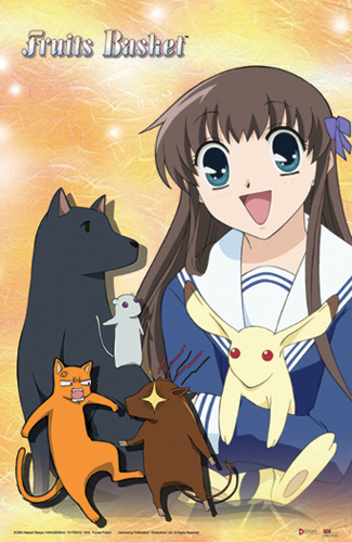 Fruits Basket Tohru And Animals Poster officially licensed product at B.A. Toys.