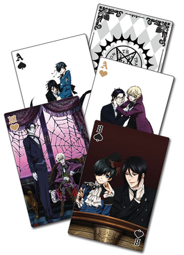 Black Butler 2 -playing Cards, an officially licensed Black Butler Playing Card