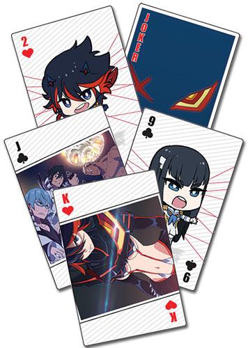 Kill La Kill - Playing Cards, an officially licensed product in our Kill La Kill Playing Cards department.