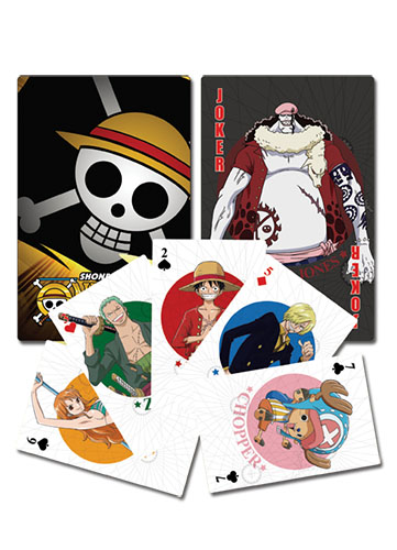 One Piece - Playing Cards, an officially licensed product in our One Piece Playing Cards department.
