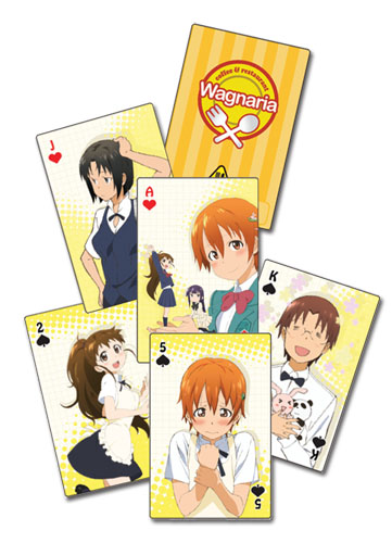 Wagnaria!! - Playing Cards, an officially licensed product in our Wagnaria!! Playing Cards department.