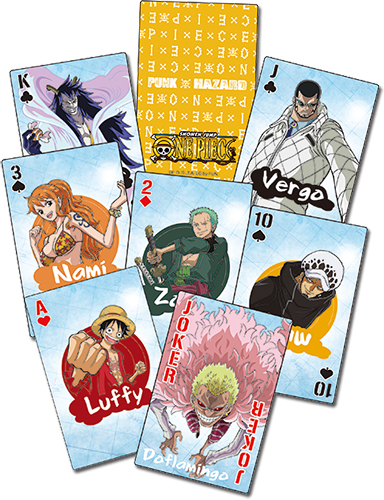 One Piece - Punk Hazard Playing Cards officially licensed One Piece Playing Cards product at B.A. Toys.