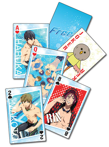 Free! - Playing Cards, an officially licensed product in our Free! Playing Cards department.