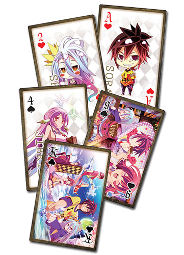 No Game No Life - Playing Cards, an officially licensed product in our No Game No Life Playing Cards department.