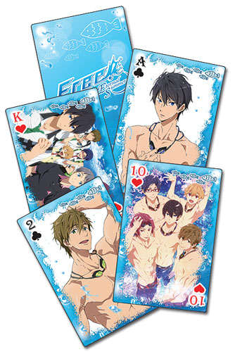 Free! 2 - Playing Cards officially licensed Free! Playing Cards product at B.A. Toys.