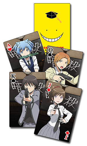 Assassination Classroom - Playing Cards, an officially licensed product in our Assassination Classroom Playing Cards department.