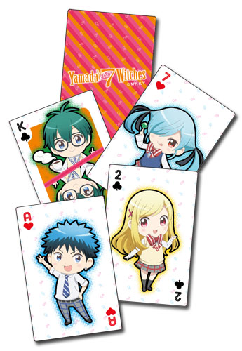 Yamada Kun - Playing Cards, an officially licensed product in our Yamada-Kun And The Seven Witches Playing Cards department.