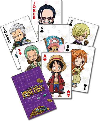 One Piece - Group Playing Cards officially licensed One Piece Playing Cards product at B.A. Toys.