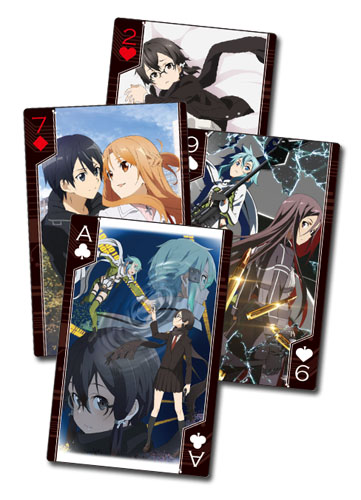 Sword Art Online 2 - Group Playing Cards, an officially licensed product in our Sword Art Online Playing Cards department.
