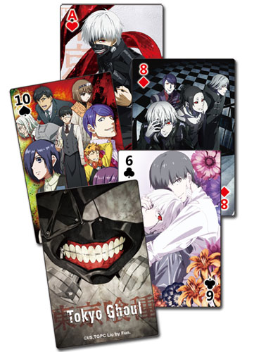 Tokyo Ghoul - Group Playing Cards officially licensed Tokyo Ghoul Playing Cards product at B.A. Toys.