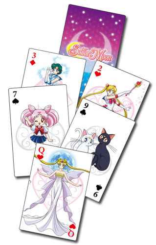 Sailor Moon - Group Playing Cards, an officially licensed product in our Sailor Moon Playing Cards department.