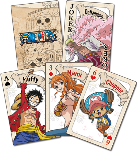 One Piece - Punk Hazard Group Playing Cards officially licensed One Piece Playing Cards product at B.A. Toys.