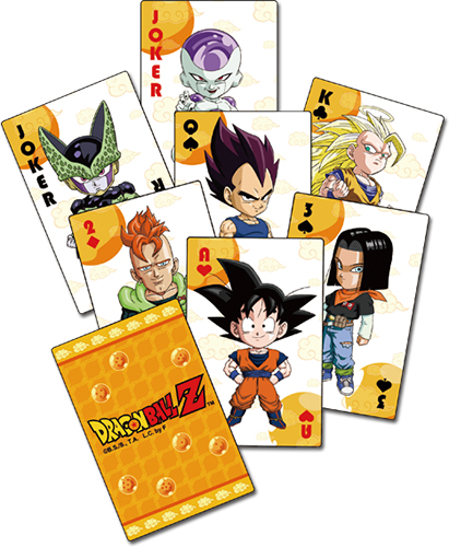 Dragon Ball Z - Sd Group Playing Cards officially licensed Dragon Ball Z Playing Cards product at B.A. Toys.