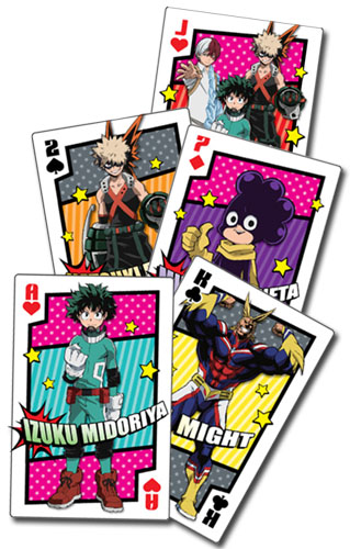 My Hero Academia - Hero Costume Group Playing Cards, an officially licensed product in our My Hero Academia Playing Cards department.
