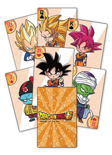 Dragon Ball Super - Sd Group Playing Cards, an officially licensed product in our Dragon Ball Super Playing Cards department.