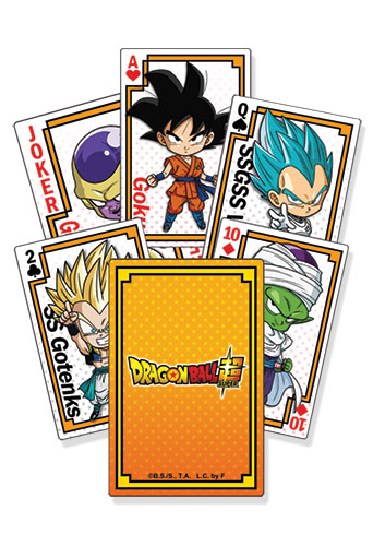 Dragon Ball Super - Resurrection F Sd Group Playing Cards, an officially licensed product in our Dragon Ball Super Playing Cards department.