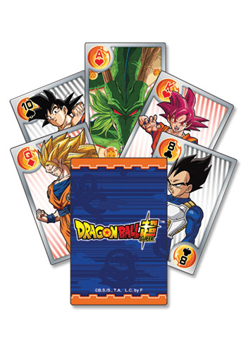 Dragon Ball Super - Battle Of Gods Characters Group Playing Cards, an officially licensed product in our Dragon Ball Super Playing Cards department.
