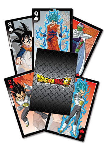 Dragon Ball Super - Resurrection F Characters Playing Cards, an officially licensed product in our Dragon Ball Super Playing Cards department.