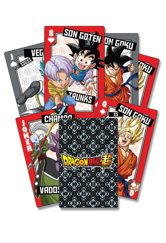 Dragon Ball Super - Champa Character Group Playing Cards, an officially licensed product in our Dragon Ball Super Playing Cards department.