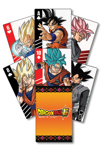 Dragon Ball Super - Characters Group Playing Cards, an officially licensed product in our Dragon Ball Super Playing Cards department.