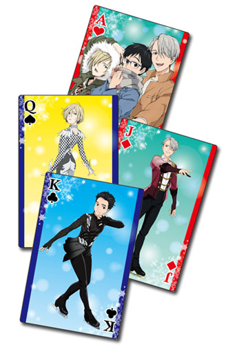 Yuri On Ice!!! - Screenshots Playing Cards, an officially licensed product in our Yuri!!! On Ice Playing Cards department.