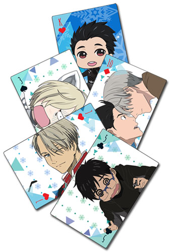 Yuri!!! On Ice - Screenshot & Sd Playing Cards, an officially licensed product in our Yuri!!! On Ice Playing Cards department.