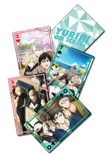 Yuri On Ice!!! - Magazine Group Playing Cards, an officially licensed product in our Yuri!!! On Ice Playing Cards department.