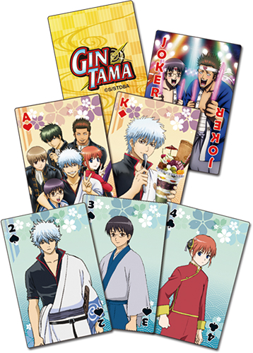 Gintama S3 - Group Playing Cards, an officially licensed product in our Gintama Playing Cards department.