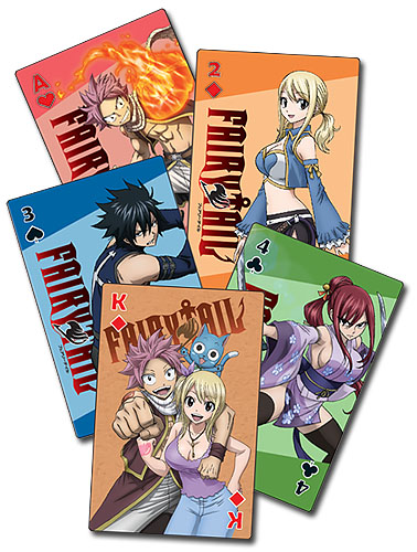 Fairy Tail - S7 Big Group Playing Cards, an officially licensed product in our Fairy Tail Playing Cards department.