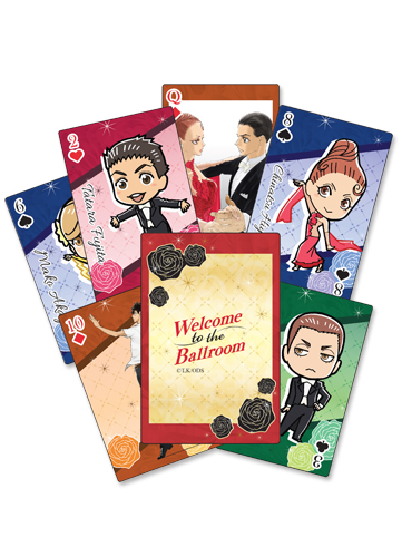 Welcome To The Ballroom - Group Playing Cards, an officially licensed product in our Welcome To The Ballroom Playing Cards department.