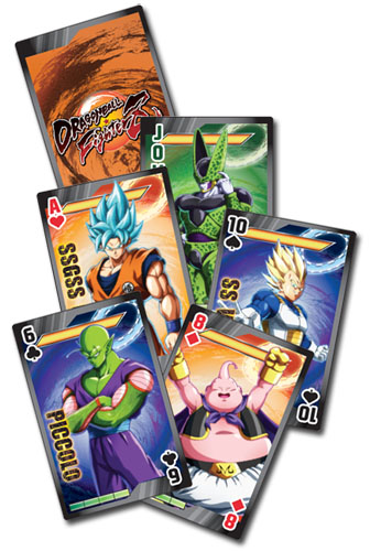 Dragon Ball Fighterz - Group Playing Cards, an officially licensed product in our Dragon Ball Fighter Z Playing Cards department.