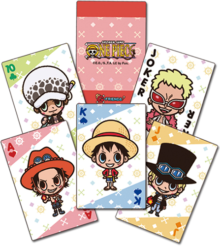 One Piece - G-friends Group Playing Cards officially licensed One Piece Playing Cards product at B.A. Toys.